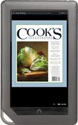 Cooks Illustrated on Nook