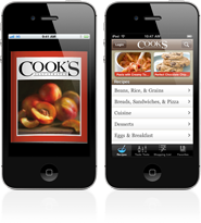 Cooks Illustrated on iPhone