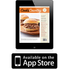 Cook's Country Magazine Available on iPad