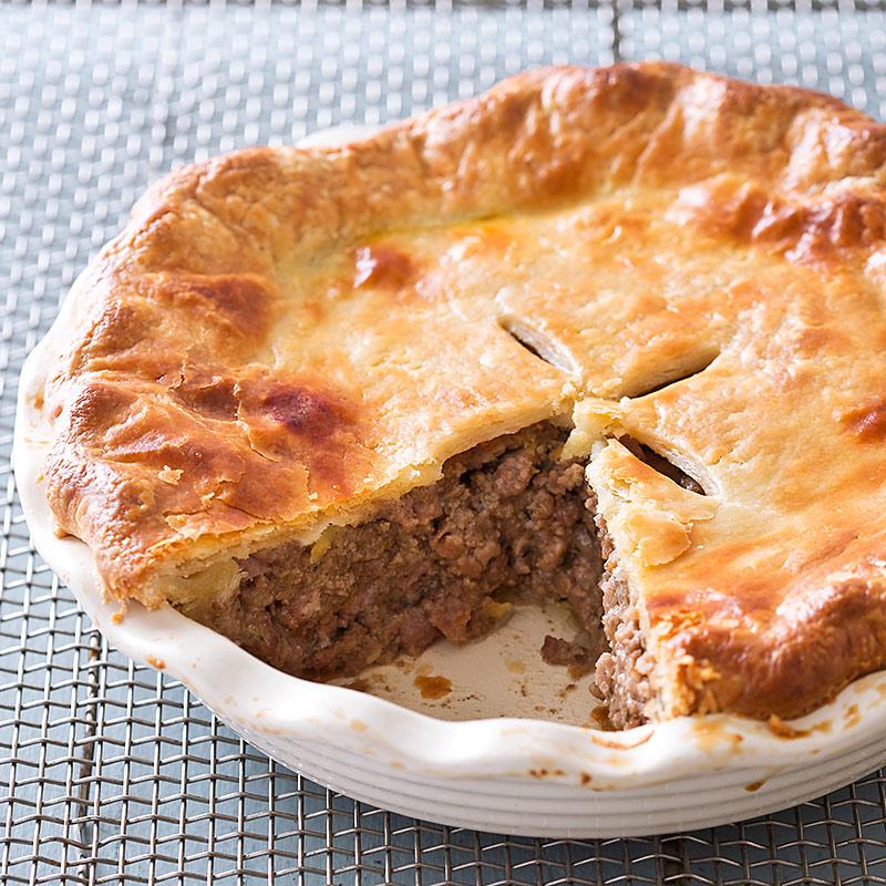 Tourtiere (Meat Pie) Recipe — Dishmaps