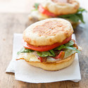 Bacon and Cheddar Breakfast Sandwiches