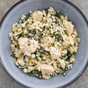 Lemon Risotto with Chicken and Swiss Chard