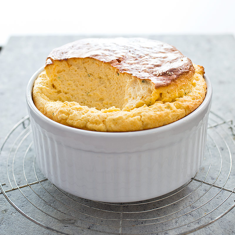 mac and cheese souffle with country ham from sweet potatoes restaurant ...