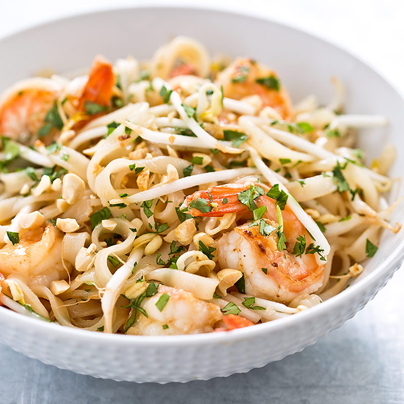 One-Pan Shrimp Pad Thai Recipe - Cook's Country