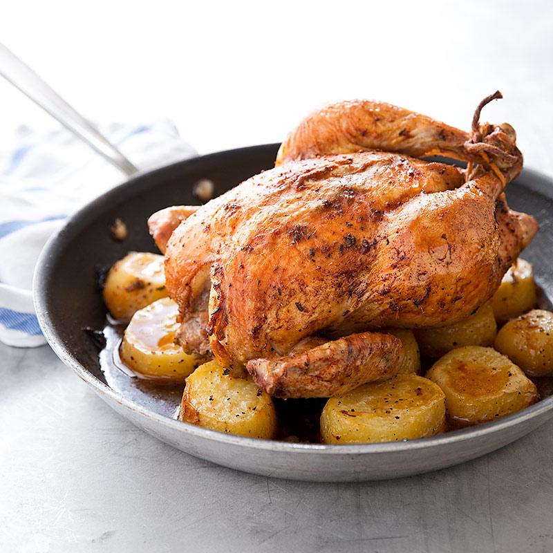 Skillet Roasted Potatoes America S Test Kitchen