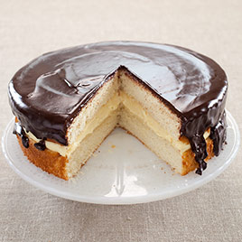 Boston Creme Pie Recipe The Kitchen