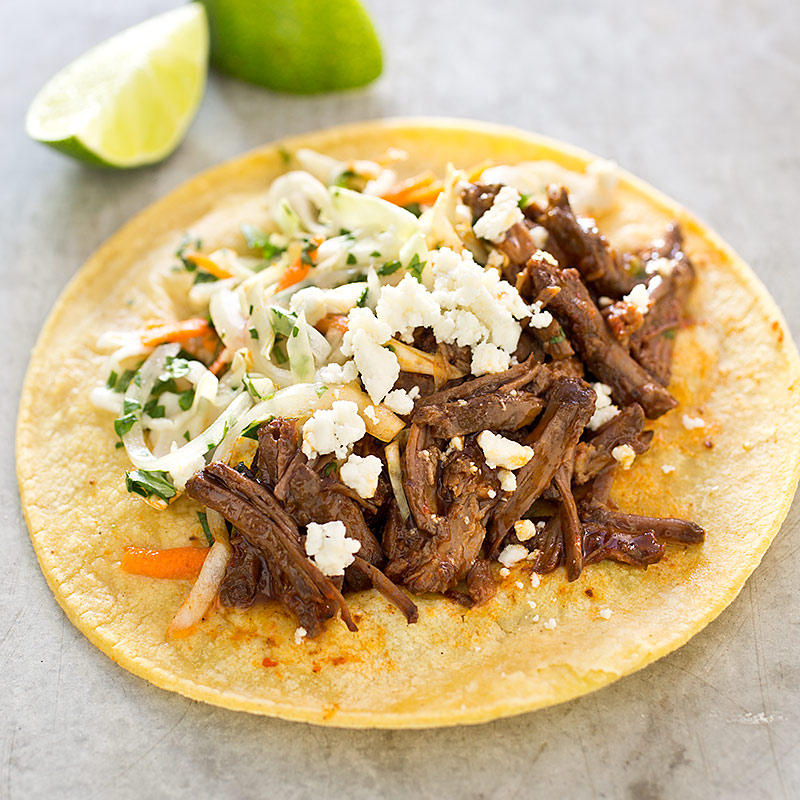 Shredded Beef Tacos (Carne Deshebrada) Recipe - America's Test Kitchen