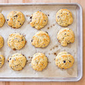 Rosemary and Olive Drop Biscuits