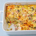 Reduced-Fat Potato and Egg Breakfast Casserole