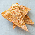 Salt and Olive Oil Pita Chips
