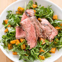 Steak with Sweet Potato Salad and Chile-Lime Dressing
