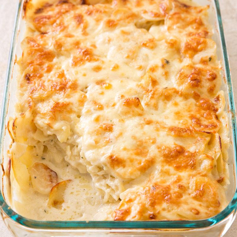 Scalloped Potatoes Recipe — Dishmaps