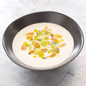 Spanish Chilled Almond and Garlic Soup