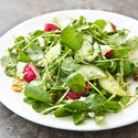 Watercress and Cucumber Salad with Lemon Vinaigrette