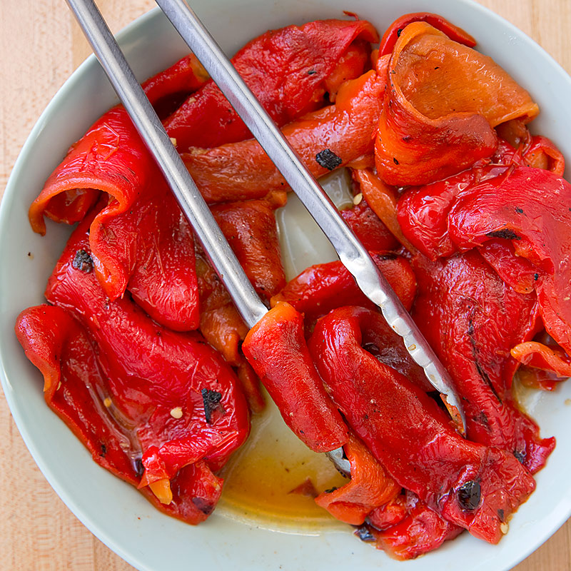 Grill-Roasted Peppers Recipe - Cook's Country