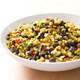 Sauteed Corn with Black Beans and Red Bell Pepper