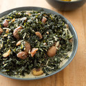 Creamed Kale with Chestnuts