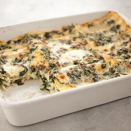content recipe spinach lasagna with prosciutto recipe spinach lasagna ...