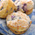 Ginger-Glazed or Lemon-Glazed Blueberry Muffins