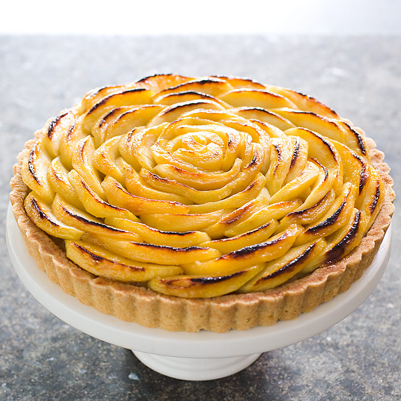 Apple Tart Recipe Dishmaps