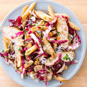 Penne with Chicken, Chickpeas, and Radicchio