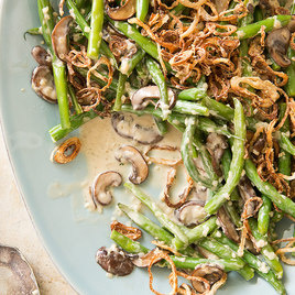 Detail quick green bean casserole 7