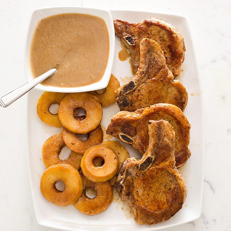 French Pork Chops America S Test Kitchen