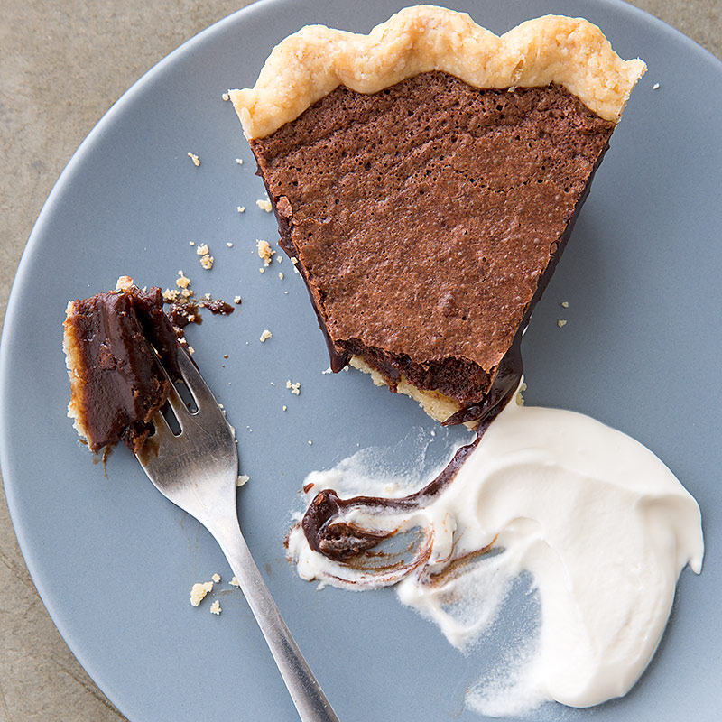 Chocolate Chess Pie Recipe - Cook's Country