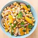 Chickpea Salad with Orange, Red Onion, and Chipotle