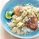 Caribbean-Style Chicken with Coconut Milk and Cilantro