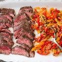 Flank Steak Peperonata