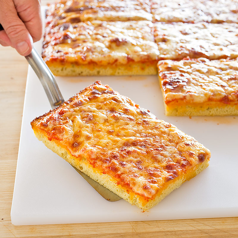 Americas Test Kitchen Thick Crust Sicilian Style Pizza