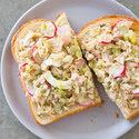 Tuna Salad with Hard-Cooked Eggs, Radishes, and Capers