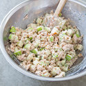 Tuna Salad with Apples, Walnuts, and Tarragon