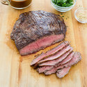 Sesame-Hoisin Glazed Flank Steak