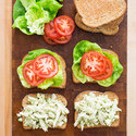 Chicken-Avocado Salad Sandwiches