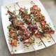Grilled Pork Kebabs with Sweet Sriracha Glaze