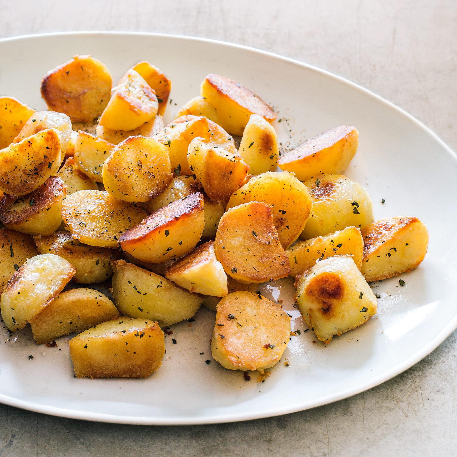 Duck Fat Potatoes America S Test Kitchen