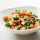 Israeli Couscous with Tomatoes, Olives, and Ricotta Salata