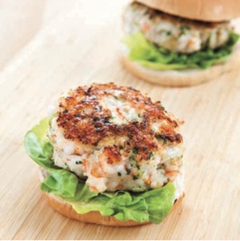 America S Test Kitchen Shrimp Burgers