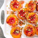 Honey-Glazed Peaches