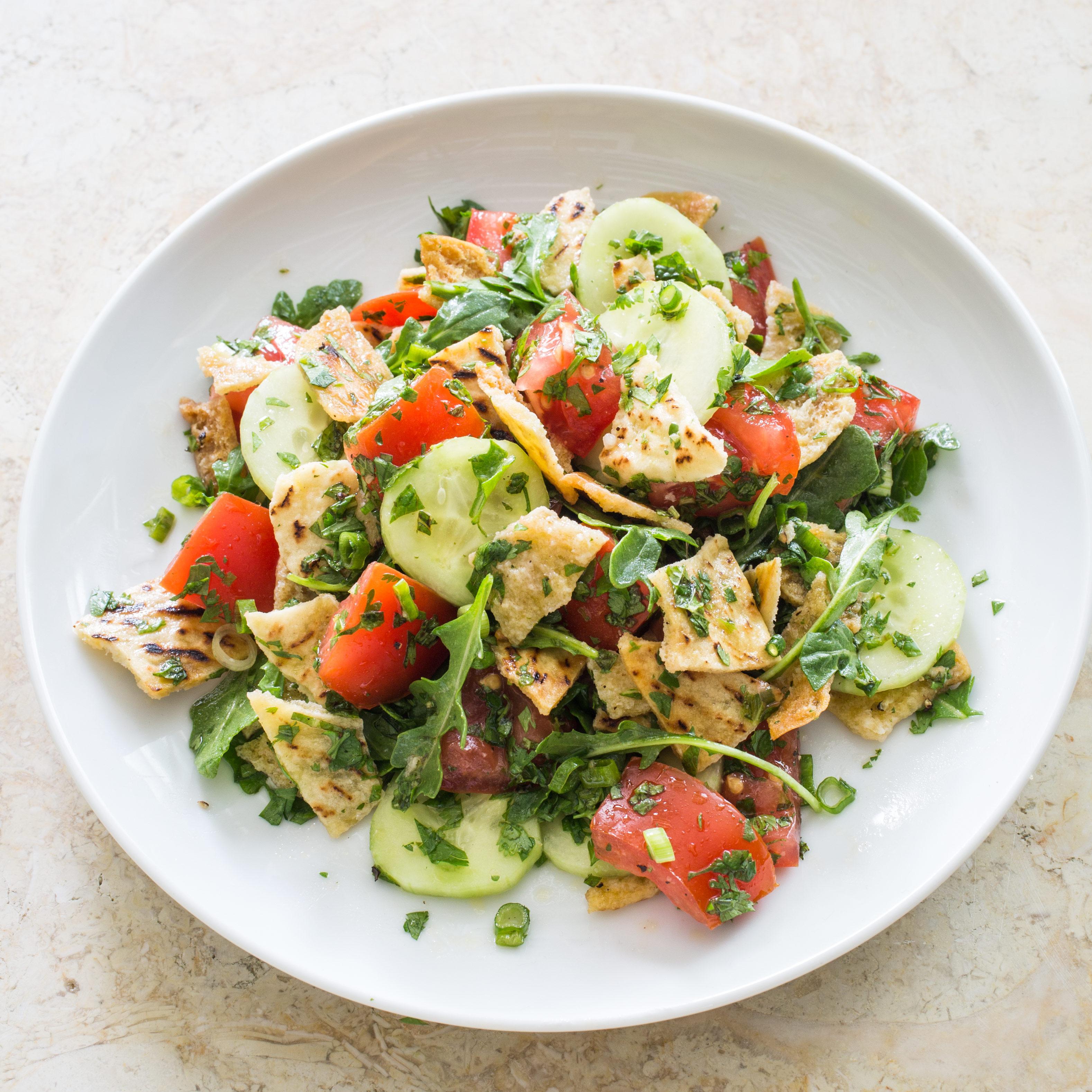 Pita Bread Salad America S Test Kitchen