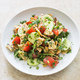 Pita Bread Salad with Tomatoes and Cucumber (Fattoush)
