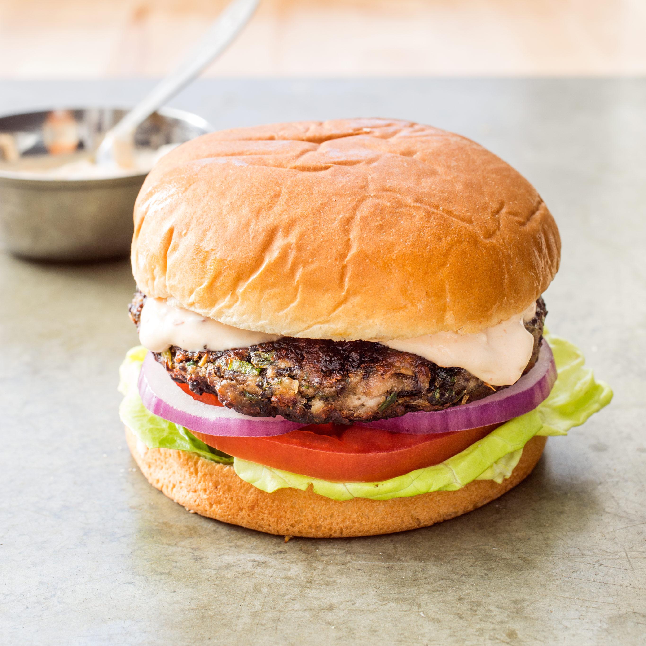 America S Test Kitchen Black Bean Burgers Recipe