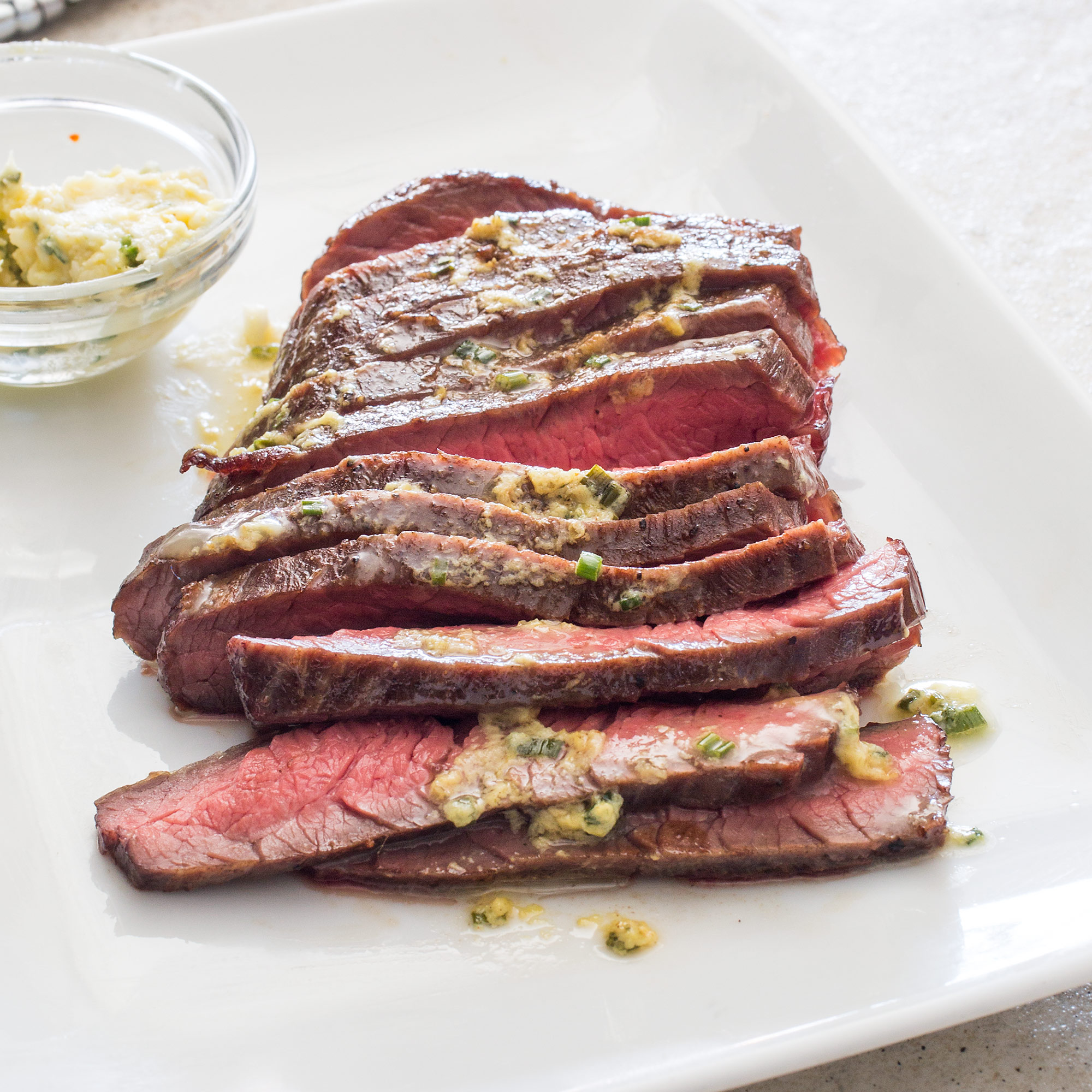 Pan-Grilled Flank Steak photo