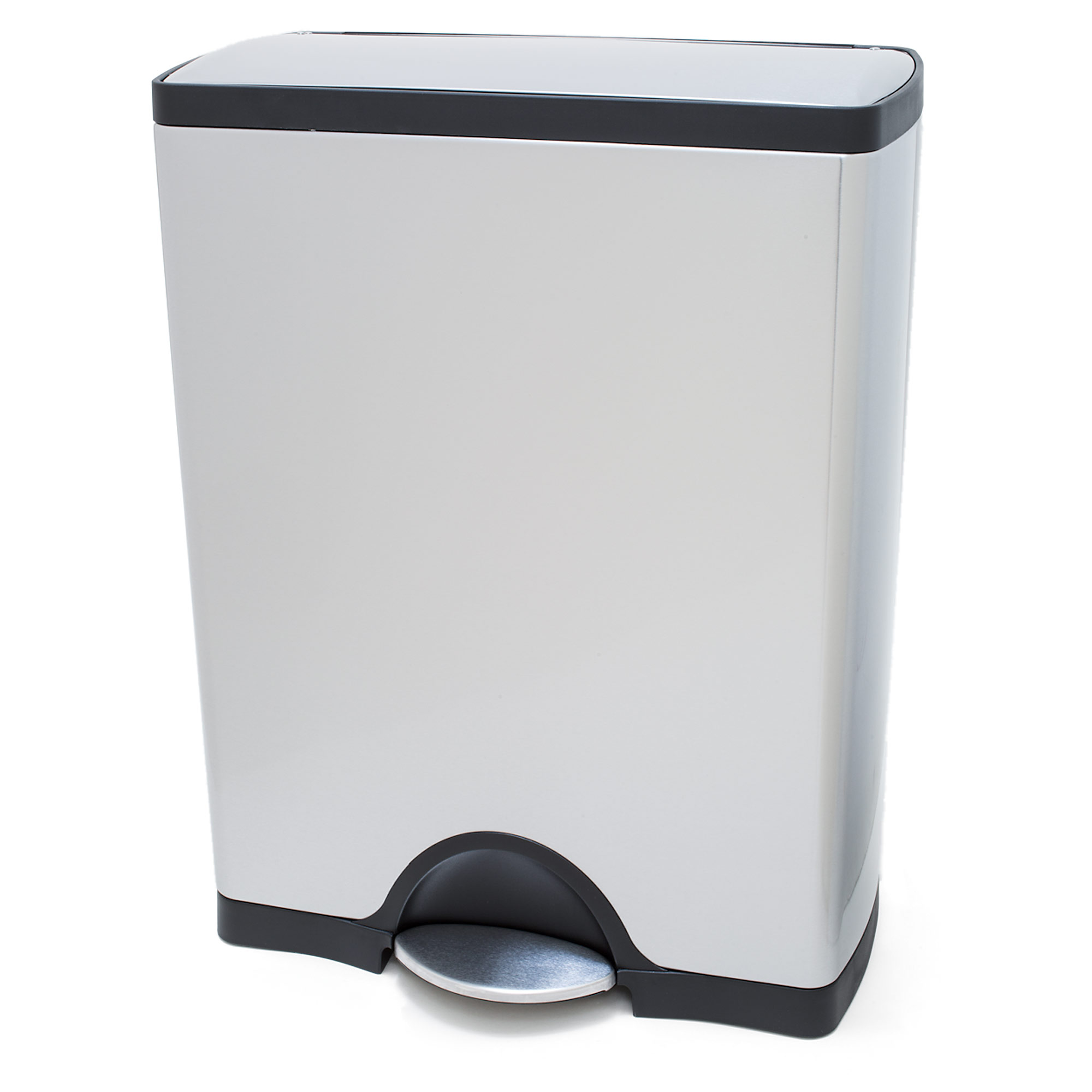 Kitchen Garbage Can Sil Kitchen 20trash 20can Simplehuman 20rectangular 20step 20trash 20can 20fingerprint Proof 20brushed 20stainless 20steel 2050 20liter 13 20gallon Cw1816jpg