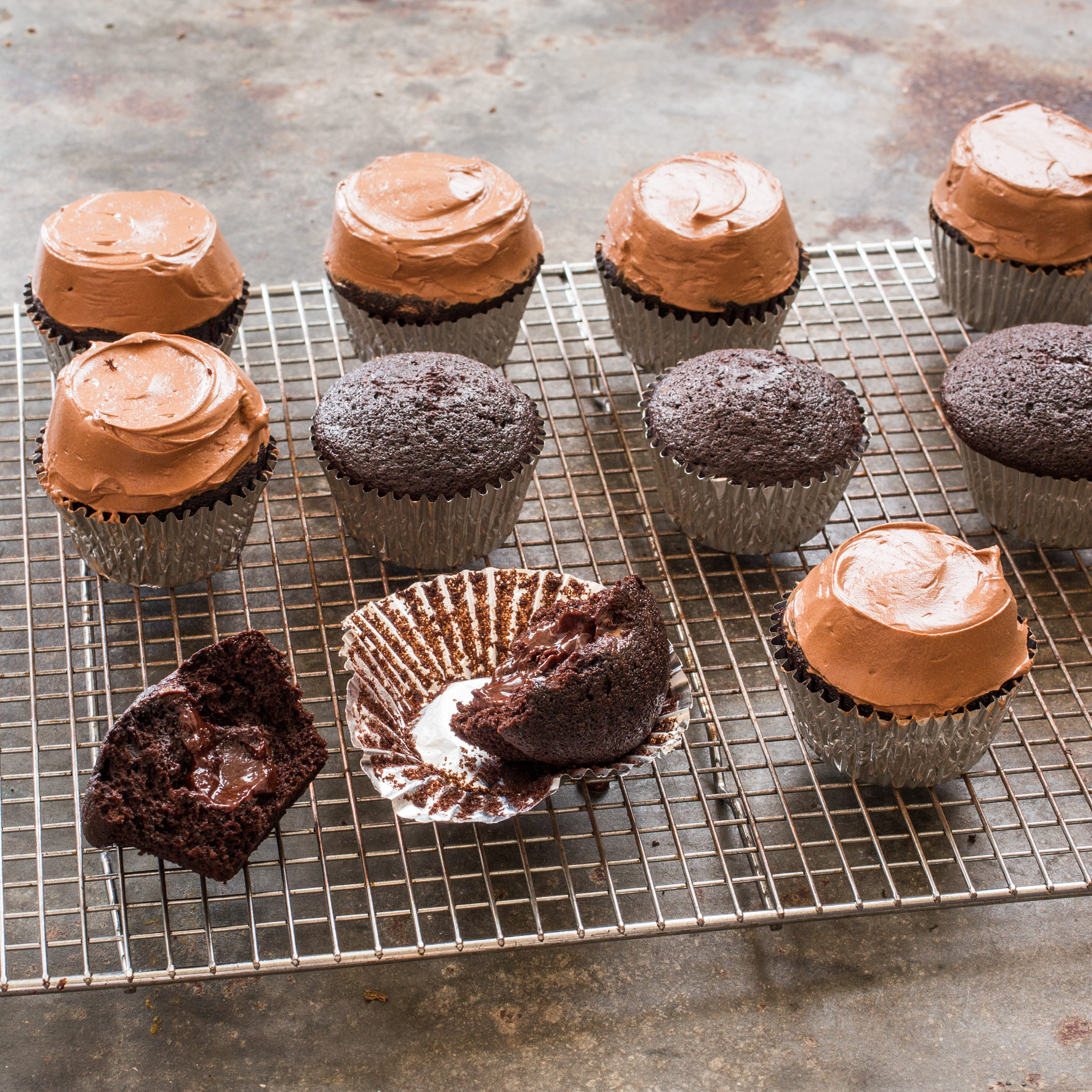 ... Cupcakes with Ganache Filling Recipe - America's Test Kitchen