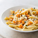 Penne with Butternut Squash and Brown Butter Sauce