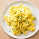 Havarti and Dill Breakfast Scramble