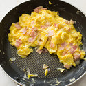 Ham and Gruyere Breakfast Scramble